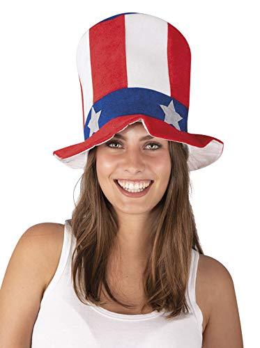 P' tit Clown–71520–Cappello–Velluto HDF americano adulto–Taglia unica