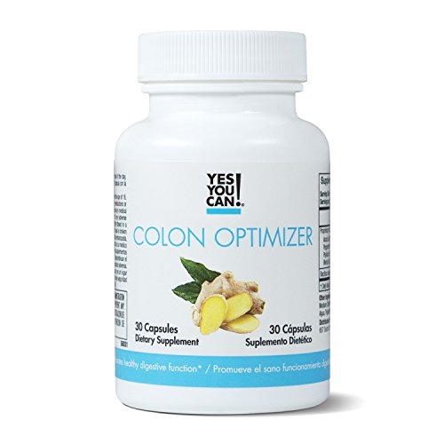 Yes You Can! Colon Optimizer - Quick Cleanse to Support Detox, Weight Loss & Increased Energy Levels - Limpia el Colon y Promueve UNA Función Digestiva Saludable - 30 Capsules