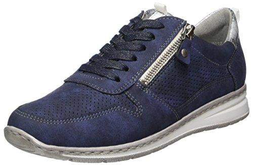 Jenny Damen Sapporo Sneaker, Blau (Indigo, Silber), 37.5 EU (7 US)