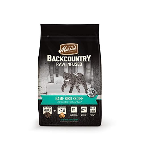 Merrick Backcountry Dry Cat Food – Game Bird Recipe