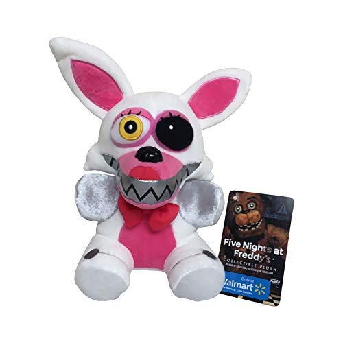 ZOOCY Five Nights at Freddy's,Five Nights Teddy Bear's Midnight Harem Plush Doll (White Fox A【10 in】)