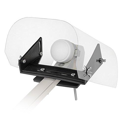LNB Wetterschutzhaube durchsichtige Kappe von HB-DIGITAL - schützt den LNB vor Wettereinflüssen wie Regen, Schnee, EIS, Hagel und Sonne (UV Schutz) Regenschutz Cap