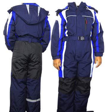 Moderei Auswahl an Schneeanzug | Schneeoverall Skianzug | Skioverall Snowboard Unisex | Jungen | Mädchen | Herren | Damen Schneeanzug Hauptfarbe-Blau (Blau, 116) …