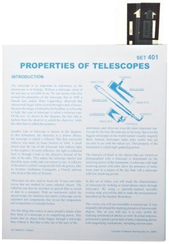 American Educational Properties Of Telescopes Astroslide Chart Set (Box of 30)