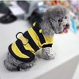 RELOAD Weste für Katzen und Hunde, niedliches Hummel-Kostüm