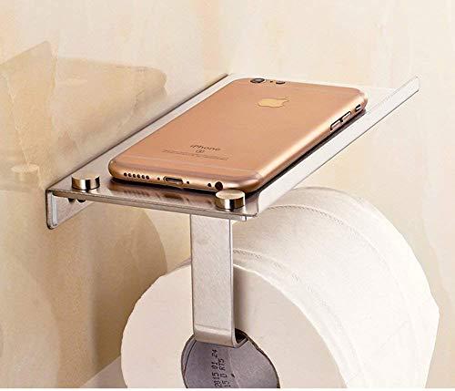 Su papel higiénico de acero inoxidable 304 [marco] Planos de papel de rack Toalla Tipo de toalla Tipo de baño de pared Cocina Teléfono Teléfono Tenedor de Teléfono Bandeja de inodoros Distribuidor de