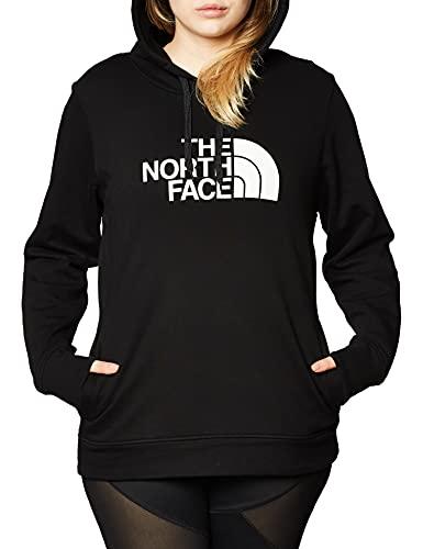 The North Face – Felpa con Cappuccio Half Dome da Donna - Black, M