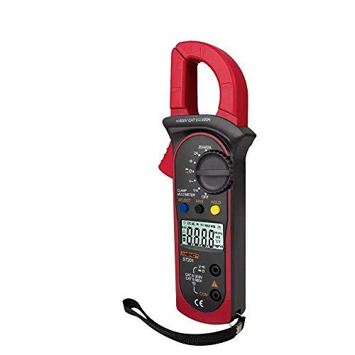 ANENG Digitales Zangenmultimeter 4000 Zählt Zangenamperemeter Transistorkondensatortester Leistungstest Kfz-AC/DC-Spannungsstromtester