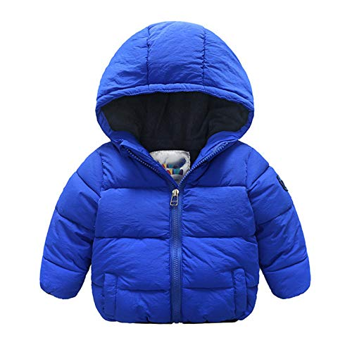 HWZZ Abrigo cálido y resistente al frío para niños de invierno y al aire libre, chaqueta gruesa de terciopelo para deportes al aire libre, aventura de montaña, 1140 cm