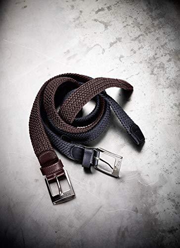 Equiline Herren Gürtel ONE geflochten, elastisch, Farbe:blau, Länge Gürtel:80cm