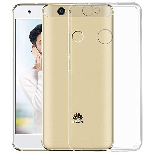 NEW'C Cover Compatibile con Huawei Nova, Custodia Gel Trasparente Morbida Silicone Sottile TPU [Ultra Leggera e Chiaro]