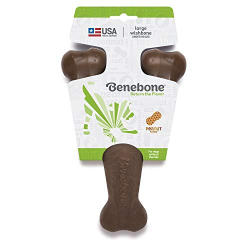 Benebone Wishbone Durable Dog Chew Toy...
