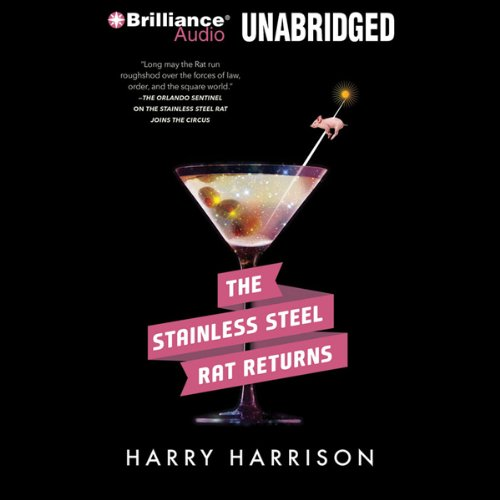The Stainless Steel Rat Returns                   By:                                                                                                                                 Harry Harrison                               Narrated by:                                                                                                                                 Phil Gigante                      Length: 7 hrs and 29 mins     37 ratings     Overall 4.5