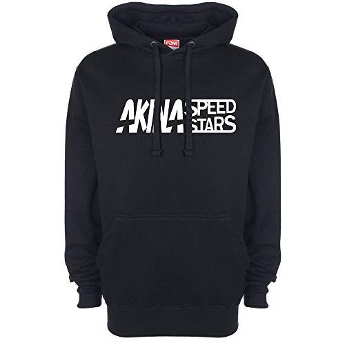 Initial D Akina Speed Stars Logo Hoody Hoodie Hooded Top