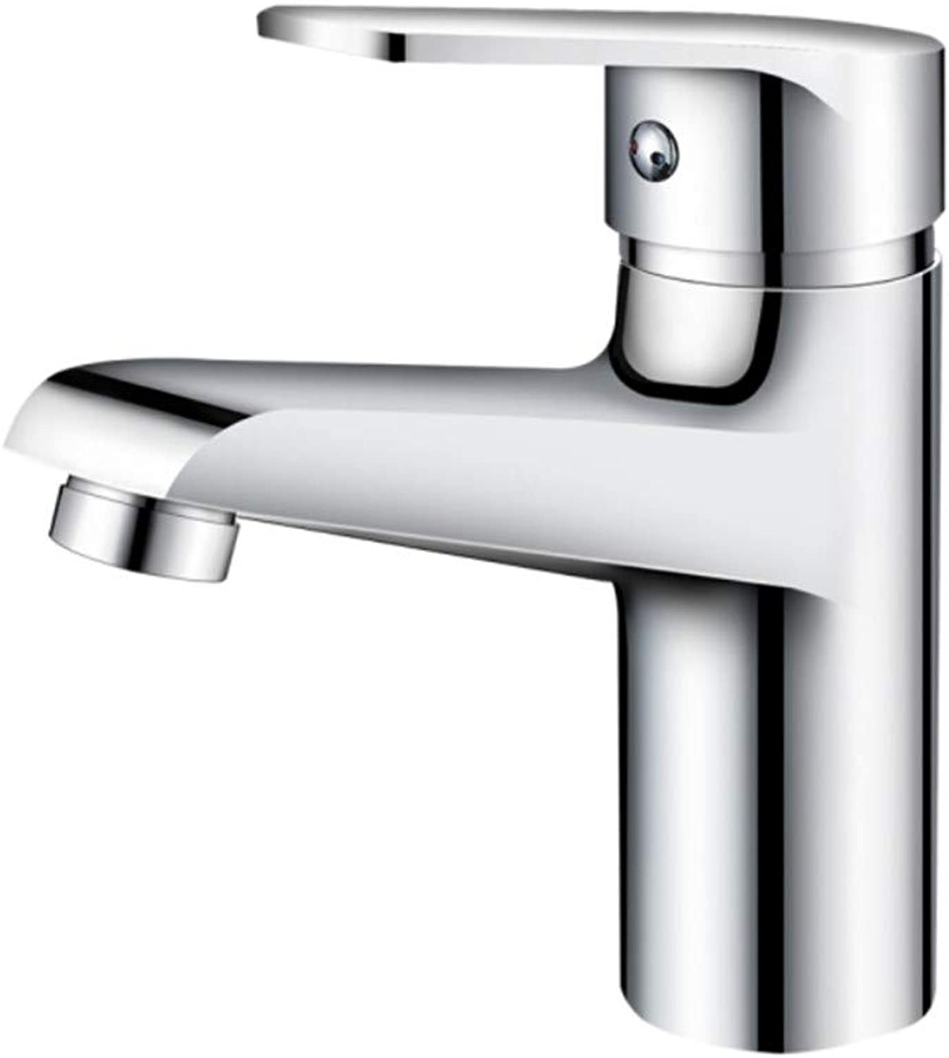 Kitchen Sink Taps Bathroom Taps Copper Face Basin Faucet Bathroom Sheet Single Hole Washbasin Cold and Hot Water Faucet