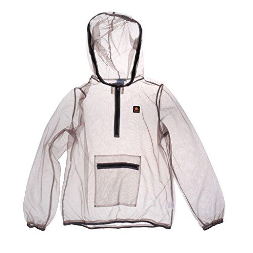 Injoyo Anti-Moskito-Kleidung Angeljacke Leicht Mückenschutz Kleidung, viele Größe Auswahl - Weiß, 2XL
