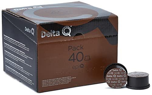 Delta Q - Pack XL epiQ 40 Cápsulas de Café - Intensidad muy Alta - 40 Cáp