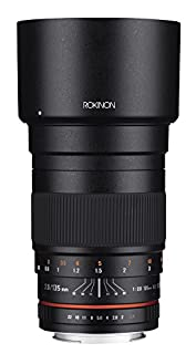 Rokinon 135mm F2.0 ED UMC Telephoto Lens for Canon Digital SLR Cameras (B00T48CE7G) | Amazon price tracker / tracking, Amazon price history charts, Amazon price watches, Amazon price drop alerts