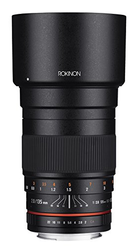 Rokinon 135mm F2.0 ED UMC Telephoto Lens for Fuji X Interchangeable Lens Cameras