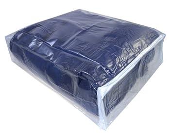 Clear Vinyl Zippered Storage Bags 15x18x4 Inch Set of 5 AK Plastics by AntiqueKitchen