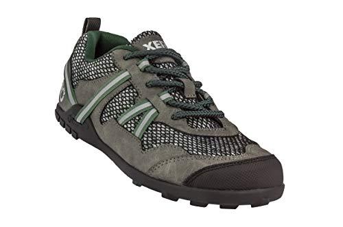 Xero Shoes TerraFlex Trail Running Hiking Shoe - Minimalist Zero-Drop Lightweight Barefoot-Inspired - Men, Forest Green, 10 D(M) US