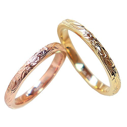 リング ハワイアンジュエリー ペアリング リング レディース メンズ サージカルステンレス 金属アレルギー対応 結婚指輪