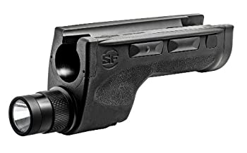 SureFire DSF-870 Ultra-High Two-Output-Mode LED WeaponLight for Remington 870  Black