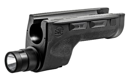 SureFire DSF-870 Ultra-High Two-Output-Mode LED WeaponLight for Remington 870 , Black