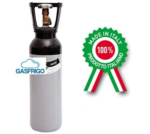 BOMBOLA AZOTO 5 LT CARICA 1 MC INVOLUCRO EXTRA UE VALVOLA PRODOTTA IN ITALIA-E'UN PRODOTTO PROFESSIONALE