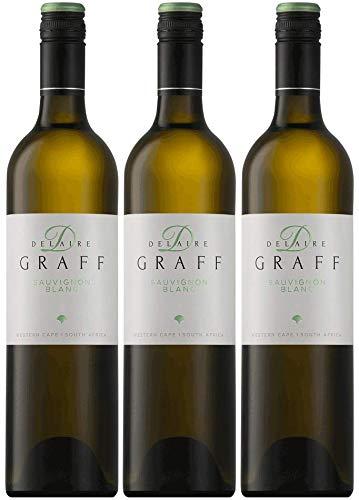 Delaire Graff Sauvignon Blanc Weinpaket | 2019 | Weißwein aus Südafrika (3 x 0.75l) | Trocken | Weine für jeden Geschmack von CAPREO