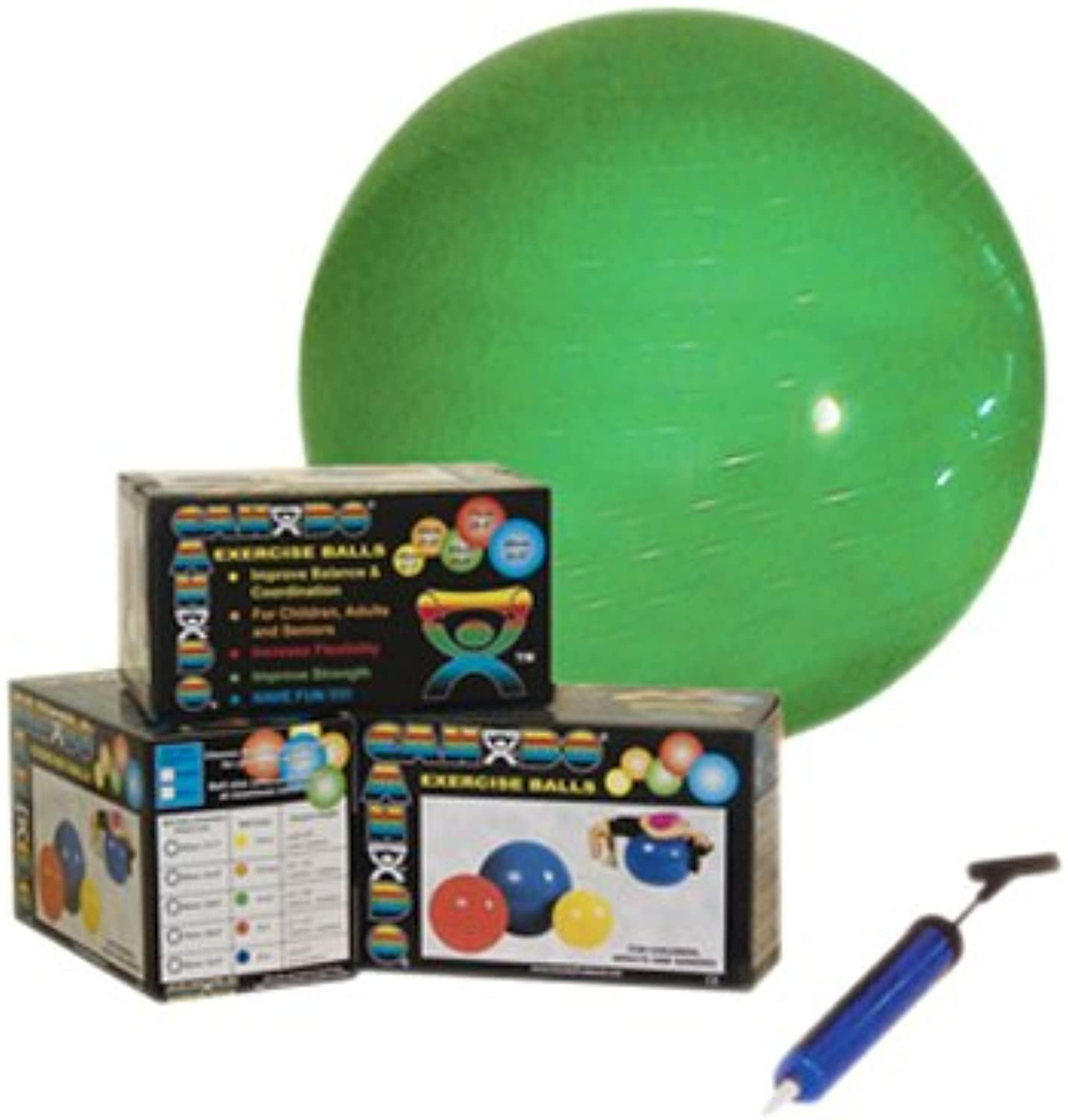 Economy Set  orange  22  (55 cm) Ball, Pump, Retail Box