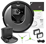 iRobot Roomba i7 Robotic Vacuum Bundle- Alexa Connected, Home Mapping, Great for Pet Hair (+1 E…