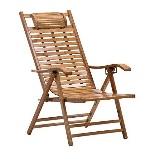 Household kantel-/hellingsstoel, tuinstoel, inklapbaar, voor volwassenen, schommelstoel, voor binnen, voor de tuin, voor het strand of de stoel, draagkracht 150 kg