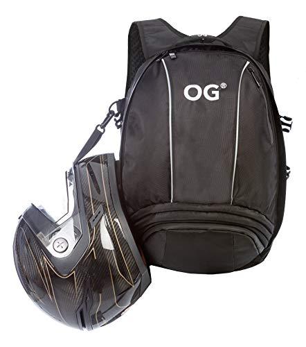 OG Online&Go EZ-Rider Motor-rugzak 25-35L, Motorfiets-rugzak, Motor-helm Rugtas, Waterdicht, Tas, Laptop, Antidiefstal-vak, reflecterend