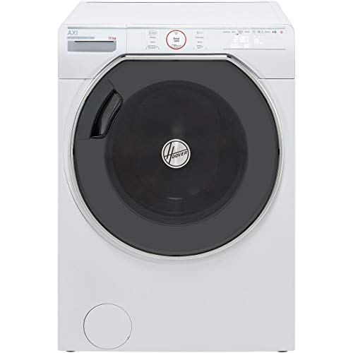 Hoover AWMPD413LH7 Freestanding AXI Washing Machine, WiFi Connected, 13kg Load, 1400rpm, White