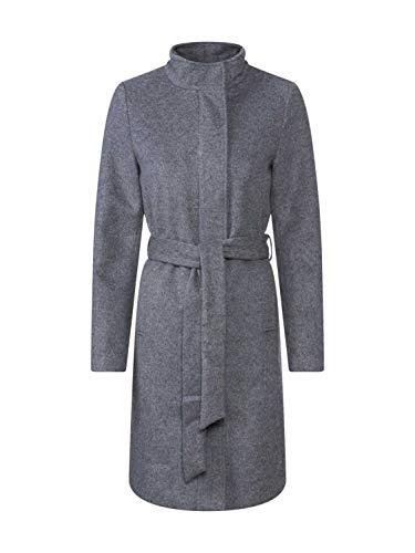 SELECTED FEMME Damen Slfmea Wool Coat B Noos Mantel, Grau(Medium Grey MelangeMELANGE), (Herstellergröße: 40)