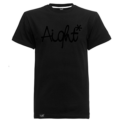 Aight Evolution T-Shirt OG Logo S Black/Black