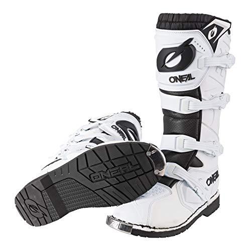 O'Neal Rider Boot MX Stiefel Weiß Moto Cross Enduro Motorrad, 0329-2, Größe 43 - 4