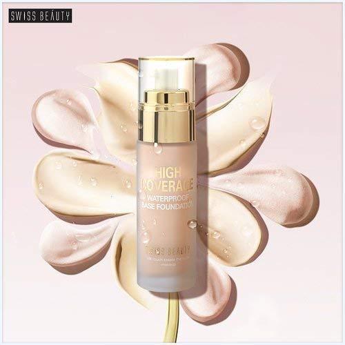 Swiss Beauty High Coverage Waterproof Foundation White Ivory