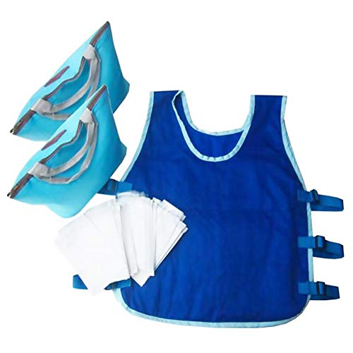 Cooling Vest for Men and Women for Outdoor Riding Fishing Running with 24PCS Ice Bags