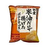 深川油脂工業 米油だけで揚げたポテトチップス 60g ×12袋