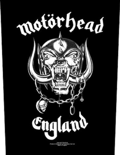 Motörhead - England - Backpatch Aufnäher für den Rücken