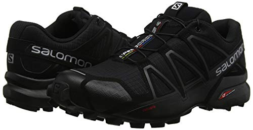 Herren Speedcross 4, Trailrunning-Schuhe, schwarz - 19