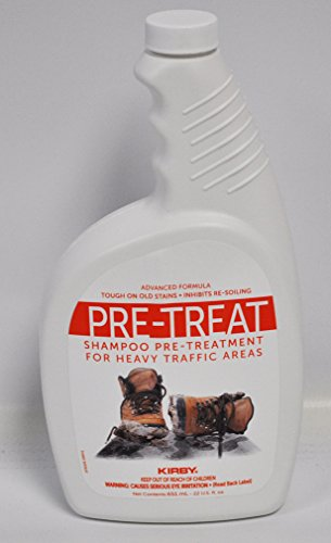 Kirby Home care Products Heavy Traffic Pre Treatment Shampoo