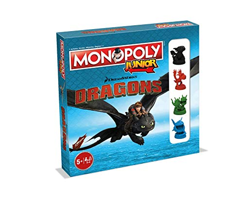Winning Moves – Monopoly Junior Dragons, 0236, französische Version