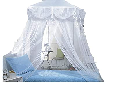 Four Corner Princess Bed Canopy for Twin Beds By Sid