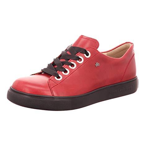 Finn Comfort Elpaso 02479-658147 - Sierra eléctrica, Color Rojo, Color Rojo, Talla...