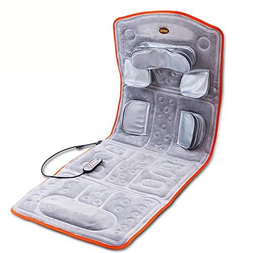 SXFYMWY Cuscino per Massaggio - Cuscino Sedile Massaggiante con Impastamento Tessuto Profondi, Massaggiatore Elettrico per Corpo a Casa O da Ufficio