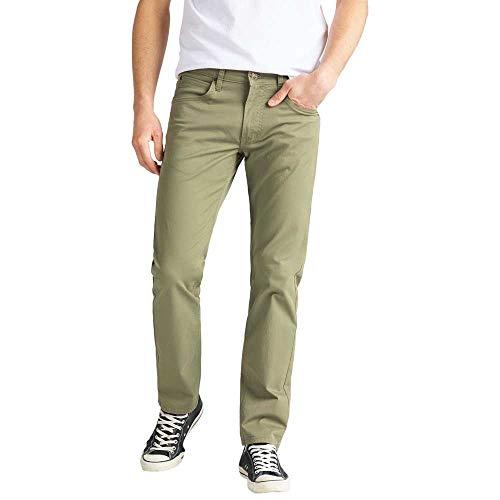 Lee Herren Daren Zip Fly Jeans, Lichen Green 82, 30W / 30L