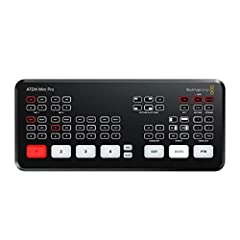 HDMI Video Inputs - 4 x HDMI type A, 10-bit HD switchable. 2 channel embedded audio. Total Audio Inputs - 2 x 3.5mm stereo mini jack. Direct recording to USB flash disks in H.264 Direct streaming via Ethernet to YouTube Live and more